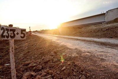 Corredor Bioceánico sumará 28 km. de nuevo asfaltado para fines de junio