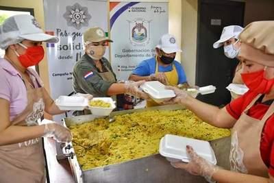 Oficina de la Primera Dama en abril, entregó víveres y el almuerzo a más de 80 mil familias en situación de vulnerabilidad