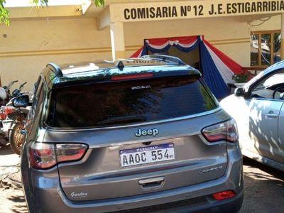 Incautan camioneta de valor por carecer de documentos, en Caaguazú