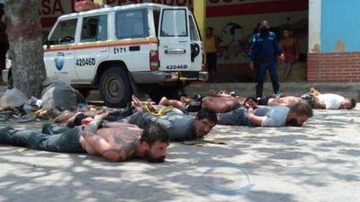 Capturan a otros ocho implicados en el intento frustrado de incursión a Venezuela