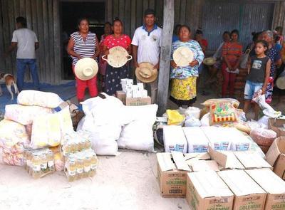 Artesanas de poblaciones indígenas de Alto Paraguay reciben asistencia del Gobierno