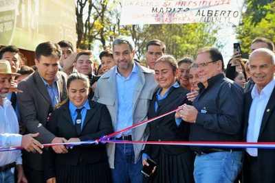 ITAIPU inauguró avenidas que dinamizarán el comercio y el tránsito vehicular en CDE
