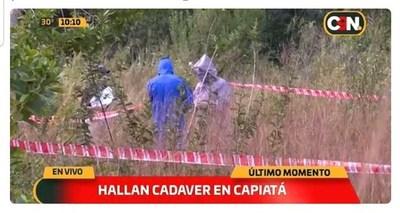 Hallan cadáver de un joven en Capiatá