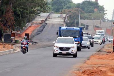 Está habilitado el nuevo asfaltado de calzada del Corredor Vial Botánico
