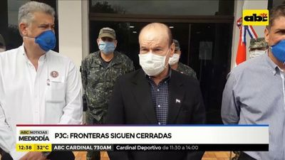 PJC: Fronteras siguen cerradas