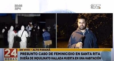 Mujer es asesinada en el interior de su casa en Santa Rita