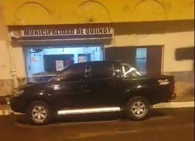 """Concejal denuncia """"sospechoso trabajo nocturno"""" en comuna de Quiindy"""