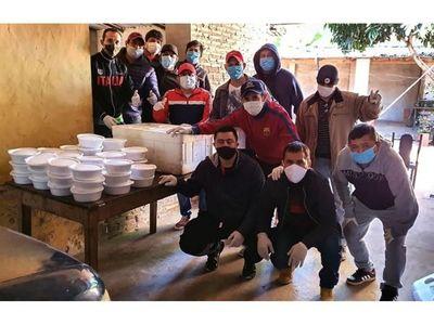 Exitoso banquete solidario  en Atyrá