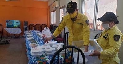 """Niños con cáncer recibieron """"almuerzo solidario"""""""