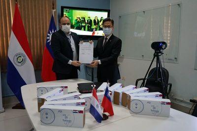 Taiwán dona 12 cámaras térmicas para la lucha contra el COVID-19
