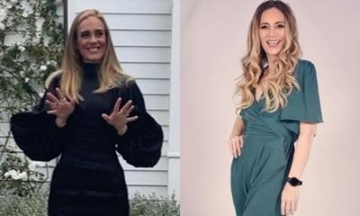 Clara Franco encantada al ser comparada con Adele