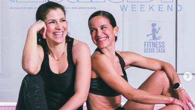 HOY / Alessandra Rosaldo y su hermana conquistan las redes con sus rutinas fit