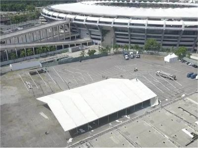 Río de Janeiro inaugura el hospital de campaña en el mítico Maracaná