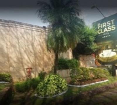Incendio de grandes proporciones en motel de Mariano Roque Alonso