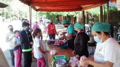 Exitoso evento solidario en Areguá • Luque Noticias