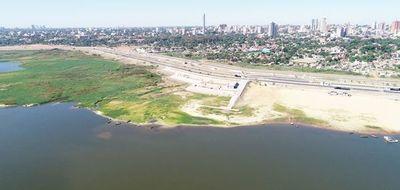 Sigue descenso del río Paraguay