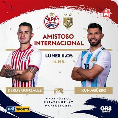 Derlis González vs. El Kun Agüero, ¡qué arranque!