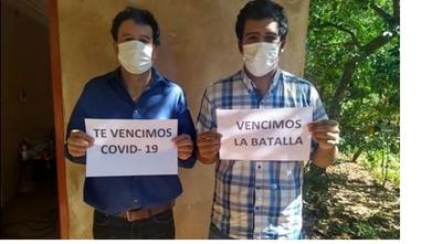 A 2 casi meses de aislamiento padre e hijo vencen al coronavirus