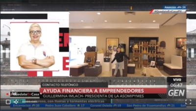 HOY / Guillermina Imlach, Presidenta de la Asociación de Pymes, sobre crédito a microemprendedores