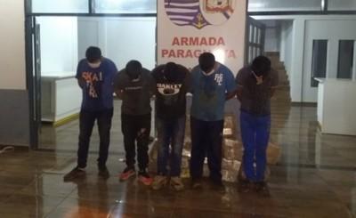 Cinco estibadores detenidos mientras intentaban ingresar por el río