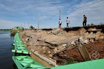 MTESS convoca a interesados en trabajar en la obra costera de Pilar