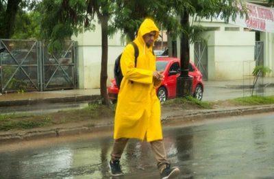 Meteorología emite alerta de lluvias para nueve departamentos