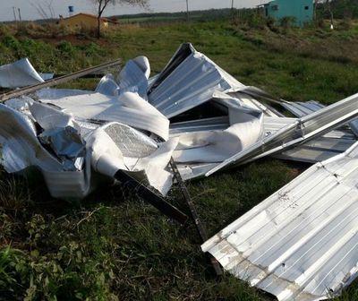 Temporal causó destrozos en San Pedro