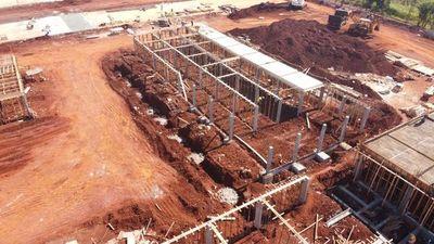 Sigue la construcción de la cárcel que albergará a 1.320 reos
