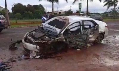 Grave accidente en Hernandarias