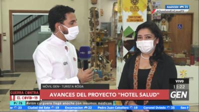 """HOY / Sofía Montiel, Ministra de la Senatur, sobre el Proyecto """"Hotel Salud"""" y las próximas convocatorias"""