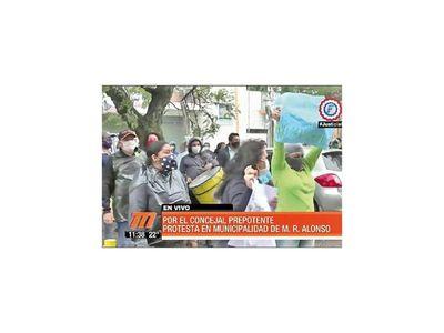 MRA: Protestan por blanqueo de la Junta a Walberto Zárate