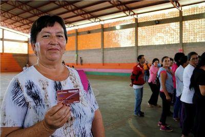 Desde hoy, más de 165.000 familias recibirán pago adicional de Tekoporã