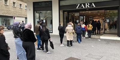 Europa relaja el confinamiento y la gente sale de compras