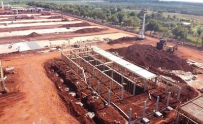 Obra de nueva cárcel en Minga Guazú se acerca al 20% del avance