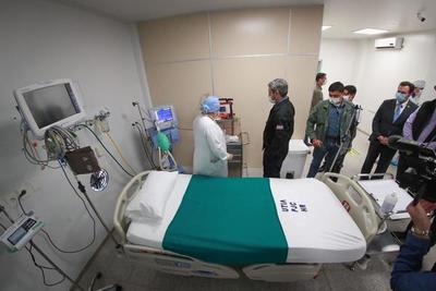 Marito inaugura terapia intensiva con nueve camas en Pedro Juan Caballero