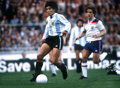"""A 40 años del histórico """"No gol"""" de Maradona"""