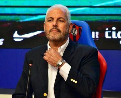 """""""Cumplí como presidente y vicepresidente"""", Zapag, anunció que dejaría directiva de Cerro"""