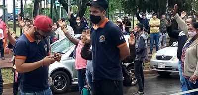 Miguel Prieto ORGANIZA y FINANCIA manifestación contra el Gobierno