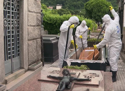 Brasil: 90.000 muertes por COVID-19 para agosto, según nueva proyección