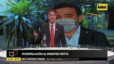 Interpelación al ministro Petta