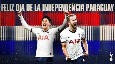 Los clubes europeos que celebran la Independencia de Paraguay