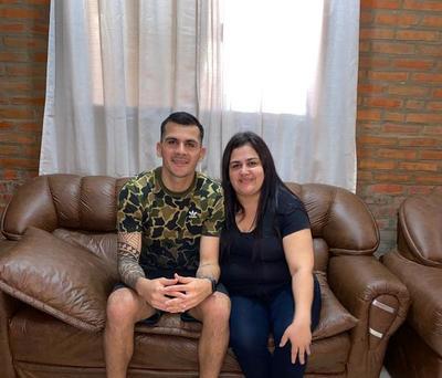 """Santiago Rojas: """"Mi mamá dejaba todo para ir a mirar mis partidos"""""""