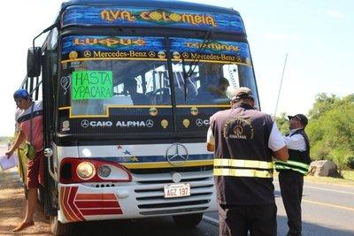 Desde este lunes el transporte de pasajeros vuelve a operar en todo el país