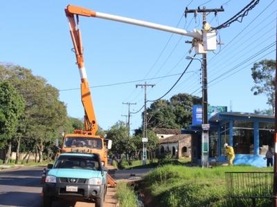 Atención, la ANDE anuncia cortes de energía en distintos puntos de Central