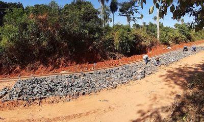 Obras viales para reactivar la economía en San Pedro