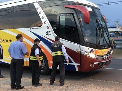 Transporte de pasajeros a todo el país se restablece este lunes 18