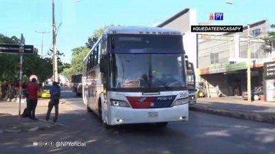 Servicios de buses de media y larga distancia regresan este lunes