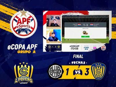 Luqueño sigue imbatible en el torneo APF eSports
