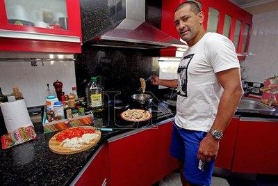 Así vive Paulo Da Silva sus días de cuarentena