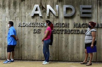 Plantearán ampliar por cuatro meses más la exoneración de la ANDE